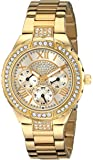 GUESS Gold-Tone Sparkling Watch