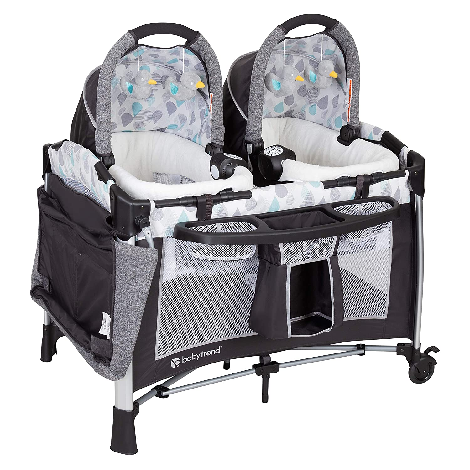 Amazon.com: Baby Trend Go Lite Twins - Centro de guardería ...