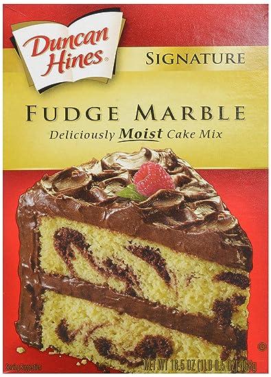 Duncan Hines Fudge Marble Cake Mix 16 5 Oz