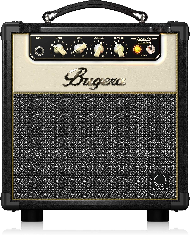 BUGERA V5 5-Watt Class Amplifier Combo with Infinium Tube Life Multiplier Black