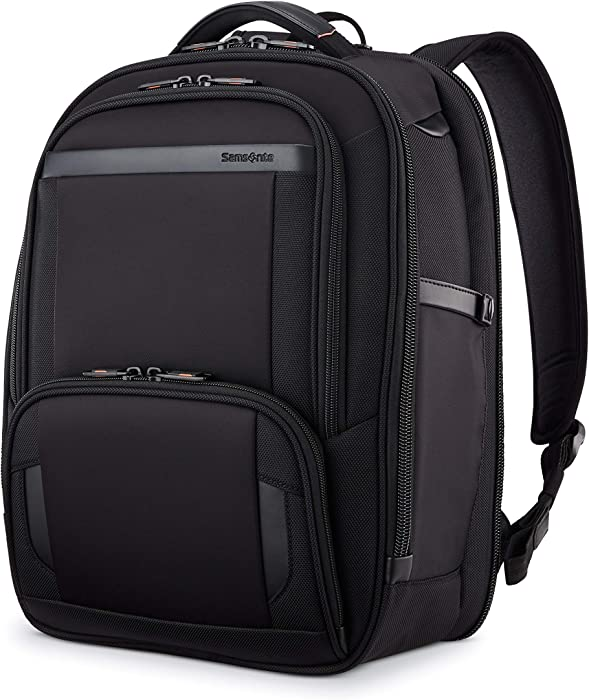Samsonite Pro Slim Backpack, Black, One Size