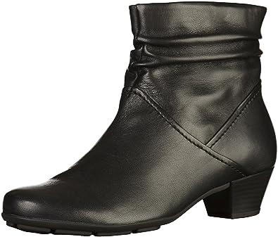 Gabor Damen Stiefeletten Schwarz Schuhe in Übergrößen