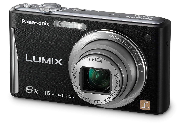 Amazon.com : Panasonic DMC-FH25K 16.1MP Digital Camera with 8x ...