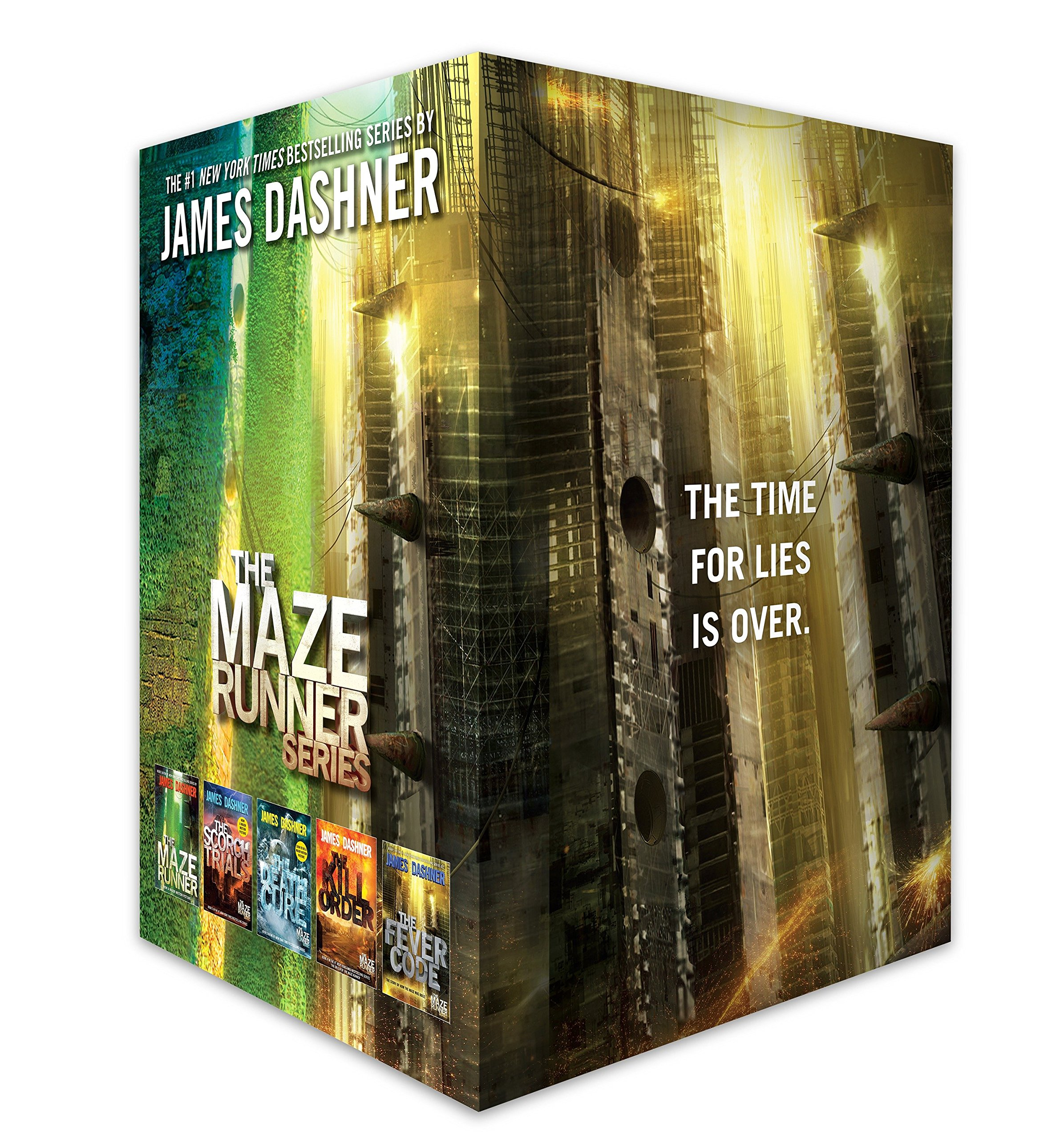 The Maze Runner Series Complete Collection Boxed Set (5-Book) by Delacorte Press