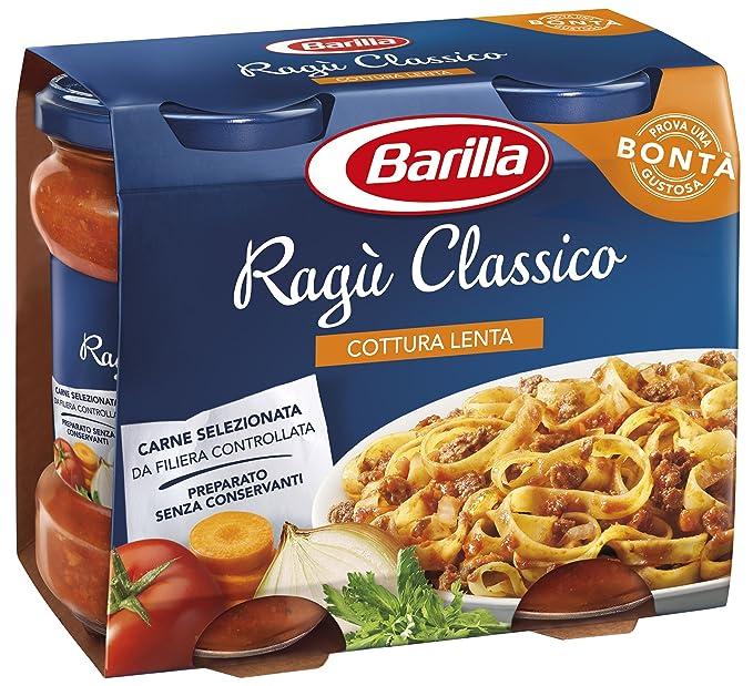 Barilla Ragù Classico Italian Tomato Sauce for Pasta 360g