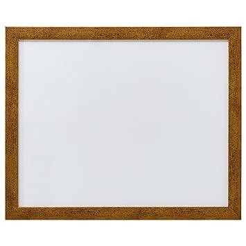 Amazoncom Rivet Modern Decorative Memo Board Dark Gold Frame 18