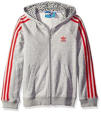 promo code 83e9c 0c0f8 Amazon.com  adidas Originals Girls  Big Girls  Young, Wild and Free Trefoil  Hoodie  Clothing