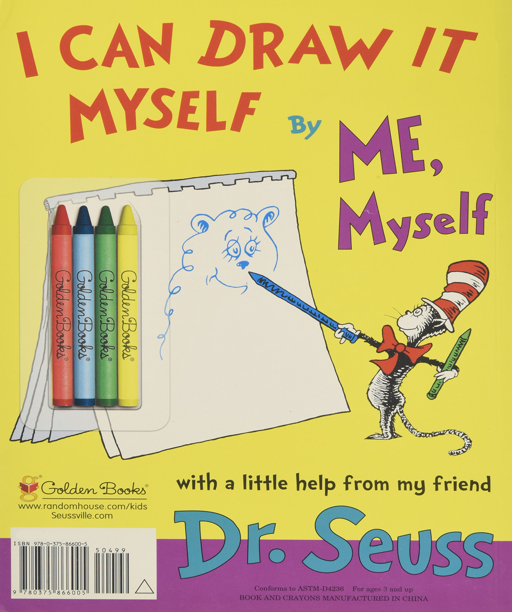 I Can Draw It Myself, By Me, Myself (Classic Seuss) by Golden Books (Image #2)