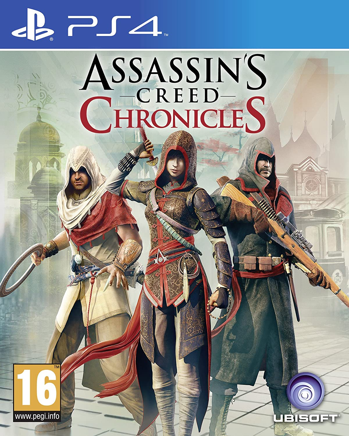 Buy The Assassin S Creed Chronicles Trilogy Pack Ps4 Online At