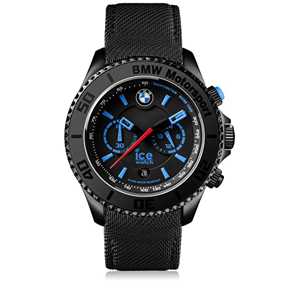 66f21bfee530 Ice-Watch - BMW Motorsport (steel) Black - Reloj nero para Hombre ...