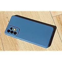 Capa Silicone Com Proteção Câmera Samsung Galaxy A72 - Azul Petroleo