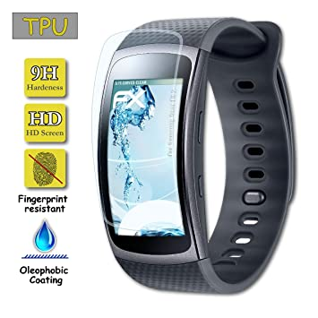 Protector de pantalla para Samsung galaxy Gear Fit 2 Calidad HD ...