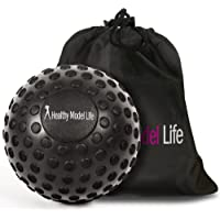 """HEALTHYMODELLIFE 5"""" Foam Roller Massage Ball by Healthy Model Life - Better Than Any Foam Roller for Trigger Point and Glute Release - Includes Free Carry Bag"""