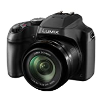 Panasonic DC-FZ82EBK 60x Optical Zoom Lumix Digital Camera, Black