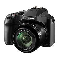 Panasonic DC-FZ82EBK 60x Optical Zoom Lumix Digital Camera, Black