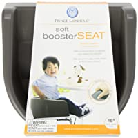 Prince Lionheart 6991 Soft Booster Seat (Charcoal Sierra Brown)