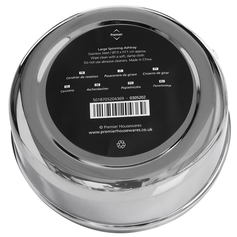 Premier Housewares 13 cm Cenicero giratorio