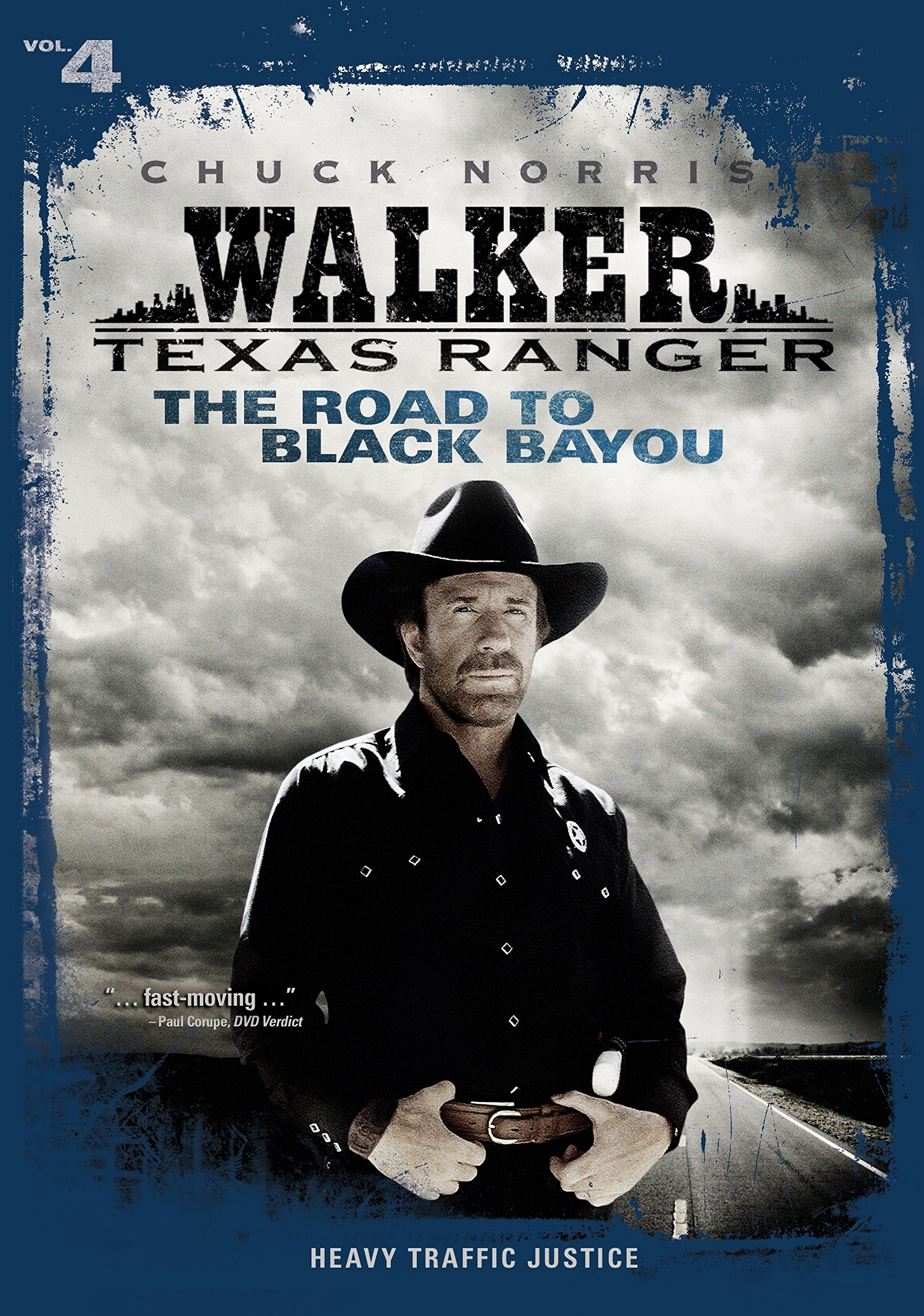 DVD : Walker Texas Ranger: The Road to Black Bayou (Full Frame, , Sensormatic)