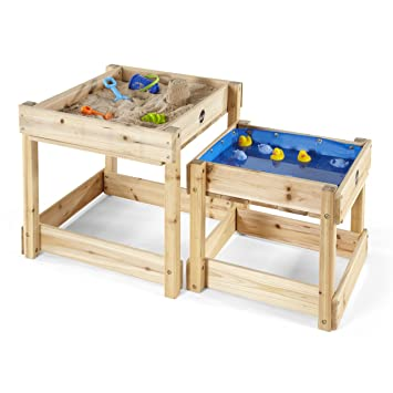 Incroyable Plum® 25074 Products Sandy Bay Wooden Sandpit And Water Tables