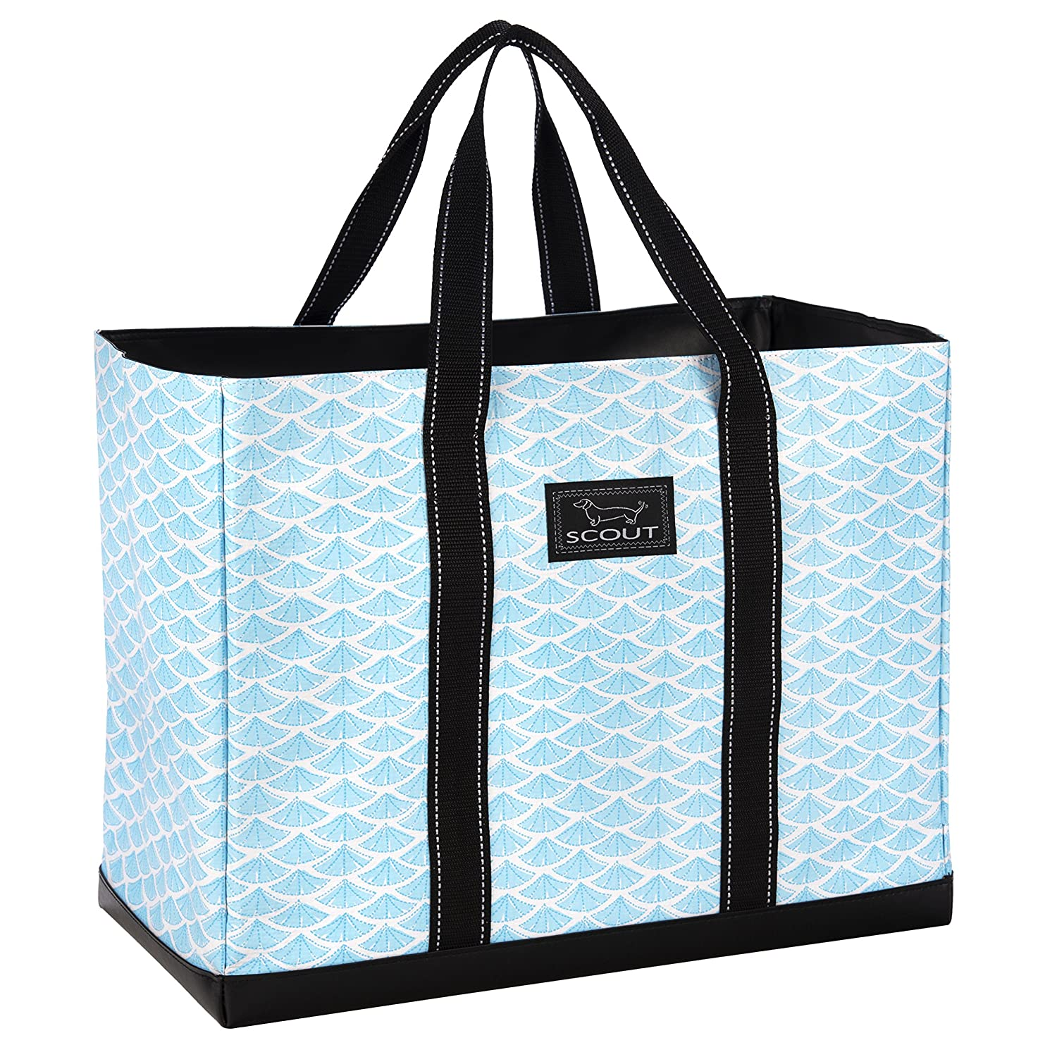 Swimfan SCOUT Original DEANO Tote Bag, Water Resistant Large Tote Bag for Women (Multiple Patterns Available) (Rock The Boat)