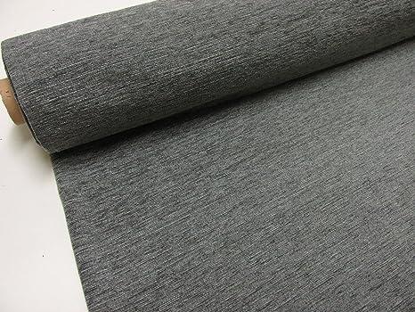 Metraje 0,50 mts. tejido Chenilla color Gris con ancho 2,80 mts.
