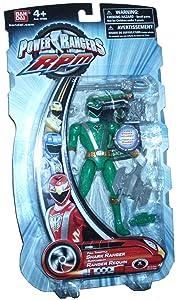 Power Rangers RPM 5 Inch Basic Action Figure Full Throttle Shark Ranger (Green)