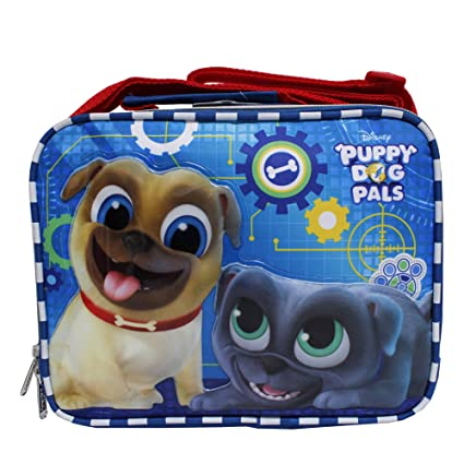e0b03f624a0 Image Unavailable. Image not available for. Color  Disney Puppy Dog Pals  Blue Insulated Children s School Lunch Bag- ...