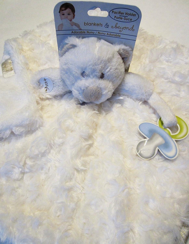 Amazon.com: Mantas y más allá de color blanco oso de peluche ...