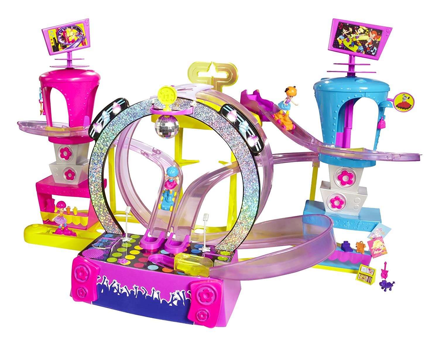 Polly Pocket Race to the Concert Playset Mattel X0324