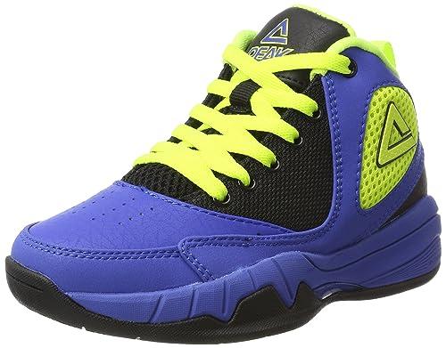Peak Sport Europe Basketball Shoe Monster Kids, Zapatillas de Baloncesto Unisex niños: Amazon.es: Zapatos y complementos