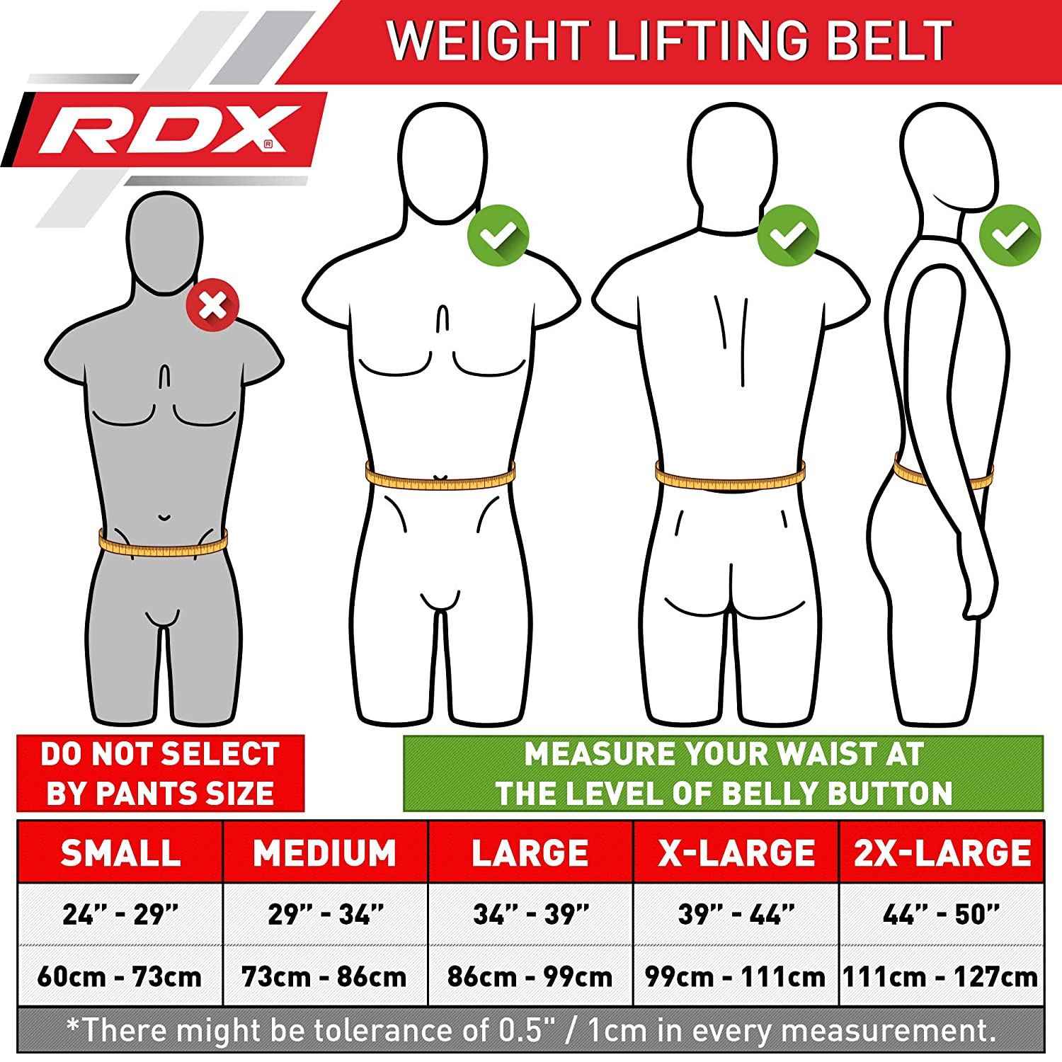 Amazon.com : RDX Weight Lifting Belt 4