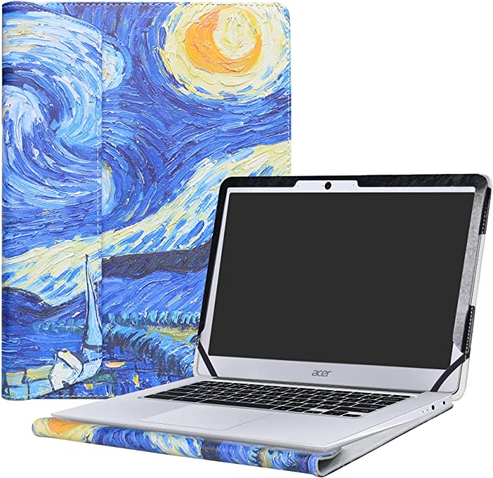 """Alapmk Protective Case Cover for 14"""" Acer Chromebook 14 CB3-431 Series Laptop(Not fit ACER CHROMEBOOK 14 for Work CP5-471 Series),Starry Night"""