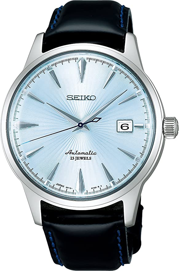 "Seiko Men's MECHANICAL x Shinobu Ishigaki SARB065 ""Cocktail Time"" Watch Review"