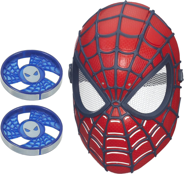 THE AMAZING SPIDER-MAN 2-SPIDER vision Mask-Maschera si illumina DISCHI WEB!