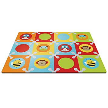 Amazon Skip Hop Baby Infant And Toddler Zoo Playmat With
