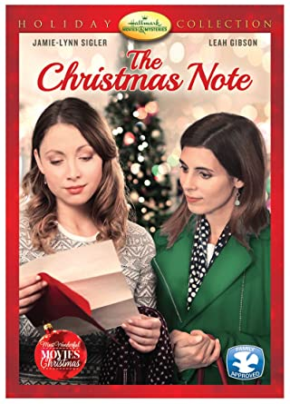 The Christmas Note.The Christmas Note Import Amazon Ca Jamie Lynn Sigler