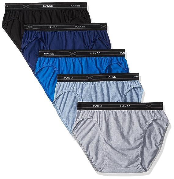8094e65226de45 Hanes Men's 5-Pack X-Temp Low Rise Sport Brief at Amazon Men's Clothing  store: