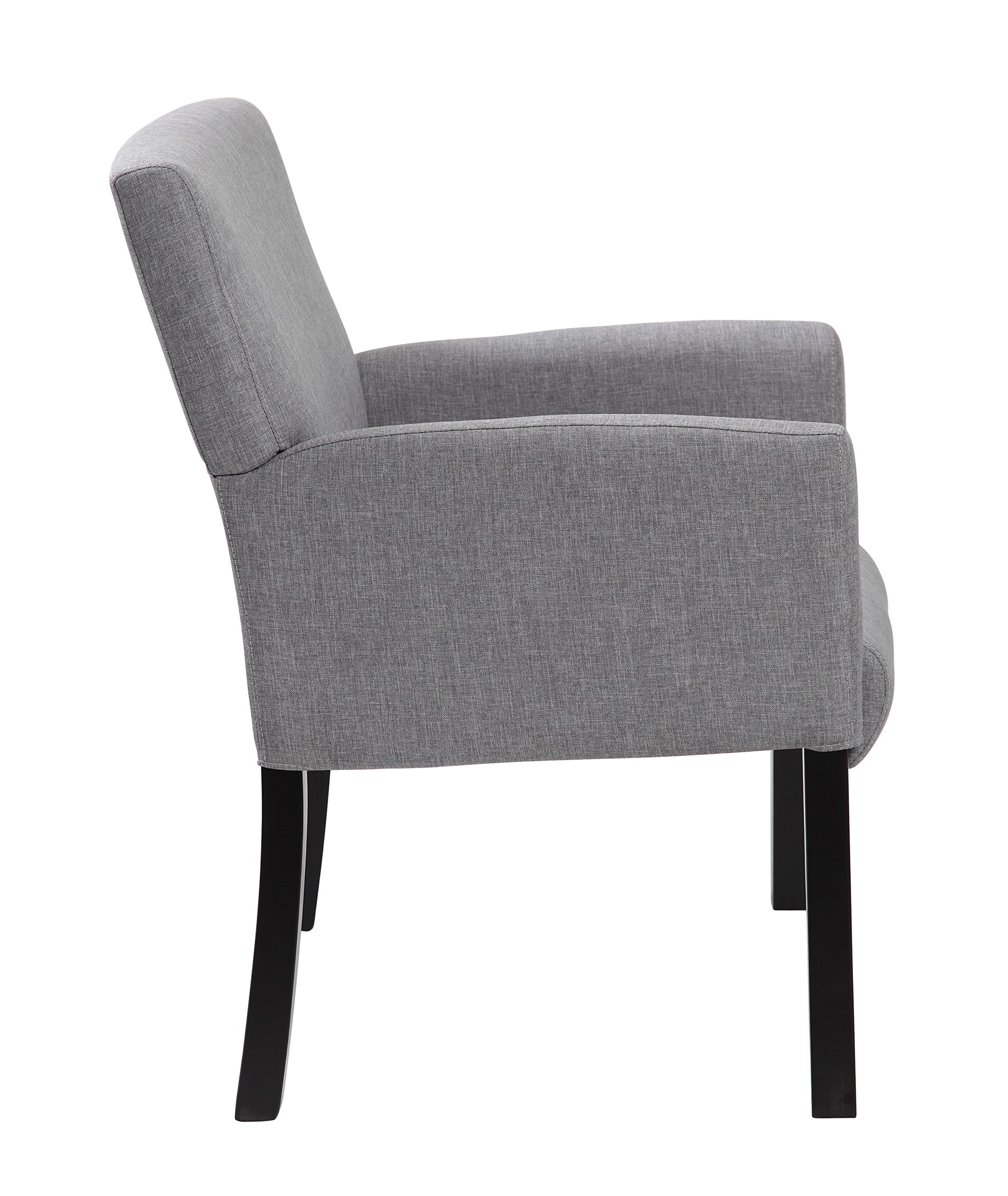 Boss Office Products B659-MG Contemporary Guest Chair in Grey by Boss Office Products (Image #3)
