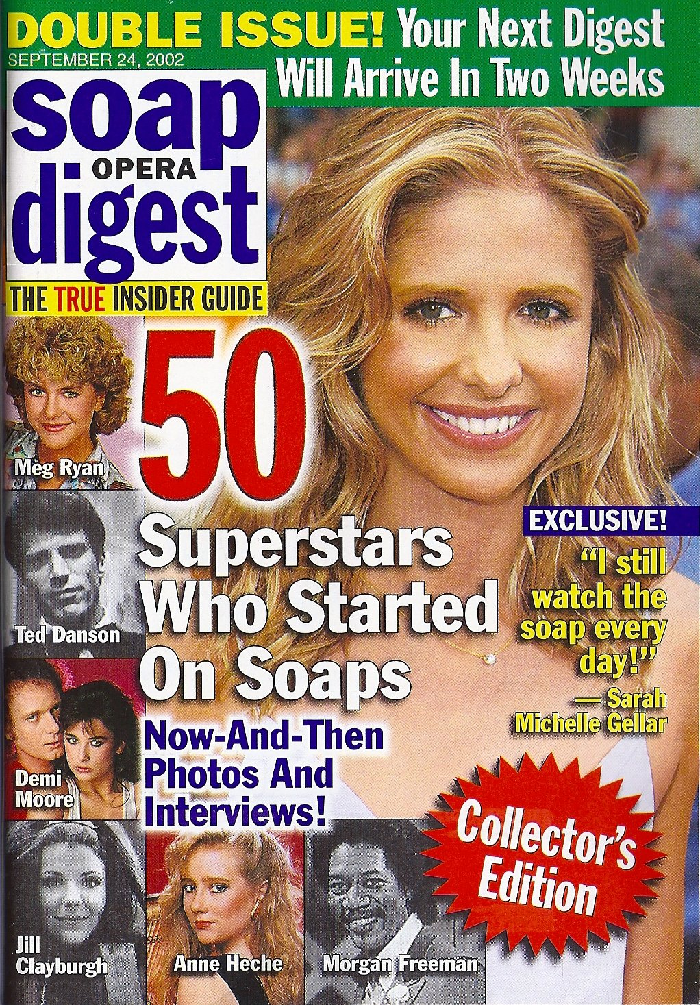 50 Superstars Who Started On Soaps Special Collector S