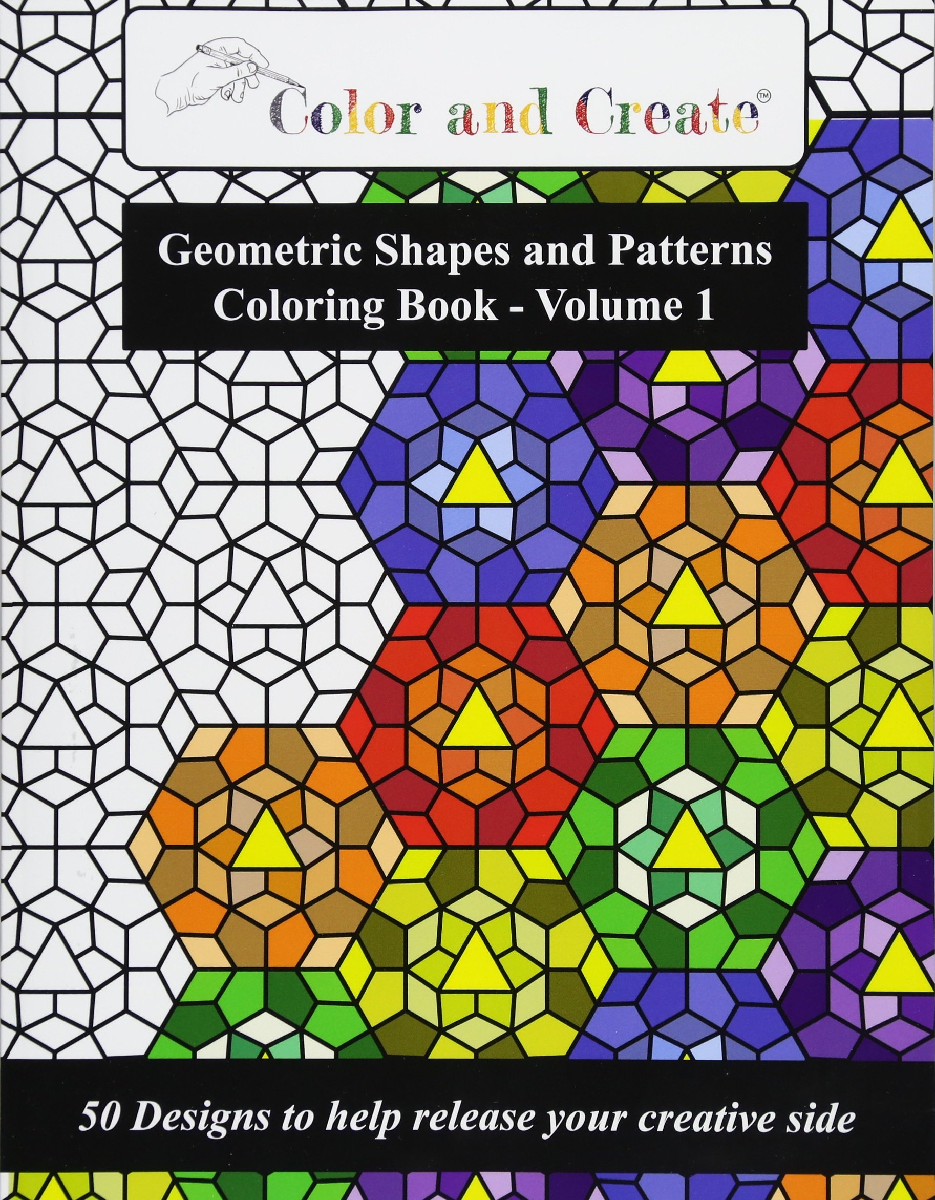 Color Create Geometric Patterns Coloring product image