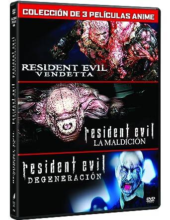 Pack Resident Evil: Vendetta (3 Peliculas) [DVD]: Amazon.es: Erin Cahill, Kevin Dorman, Arif S. Kinchen, Karen Strassman, Kari Wahlgren, Paul Mercier, Alyson Court, Laura Bailey, Matthew Mercer, Dave Wittenberg, Wendee Lee, Takanori