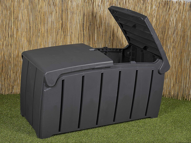 URBNLIVING Plastic 300L Garden Storage Bin Box