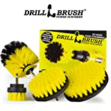 Amazon Price History for:Drillbrush 4 Piece Nylon Power Brush Tile and Grout Bathroom Cleaning Scrub Brush Kit