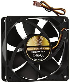 Scythe Ultra Kaze 120mm Case Fan Carcasa del ordenador ...