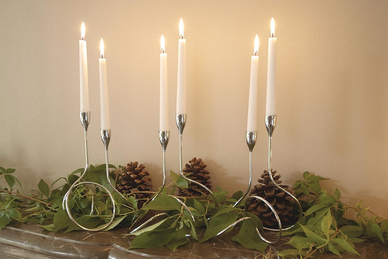 Black Blum Chandelier Loop Candlestick