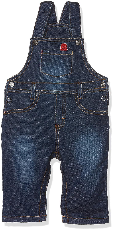 Grain de Blé Baby Boys' Salopette Effet Jeans Dungarees 1K20000