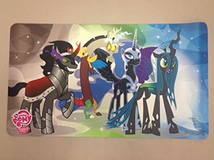 974d488f454 Image Unavailable. Image not available for. Color  My Little Pony  Villians  Playmat with Playmat Tube