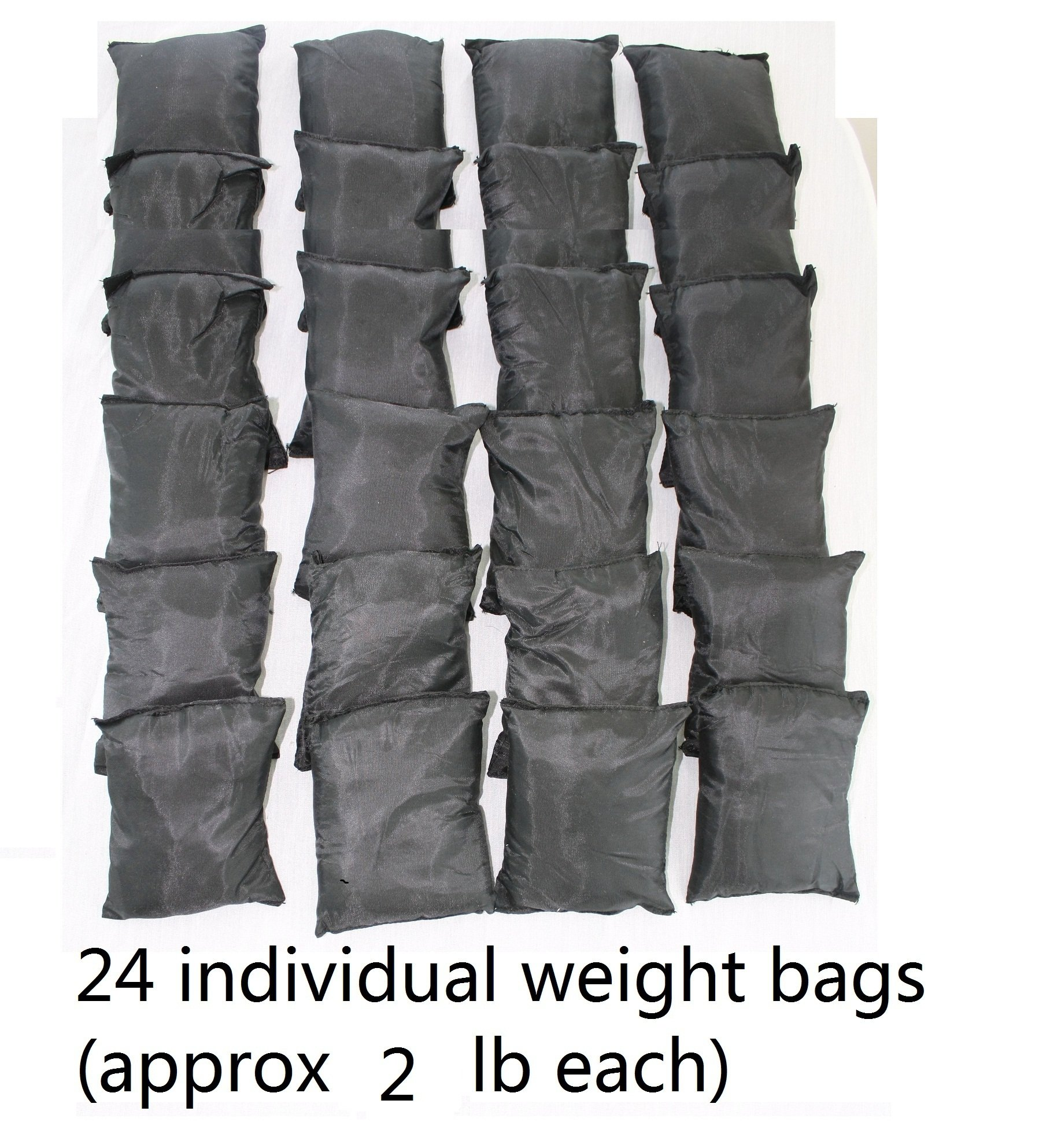 Mountaineer 50 Lbs Weight Vest, Weights Included, 24 Bags of Removable Weights by Mountaineer
