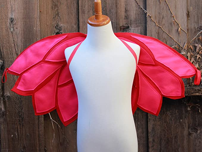 Blooms And Bugs Handmade Owlette Wings - Owlette Costume - Owlette PJ Mask Cape