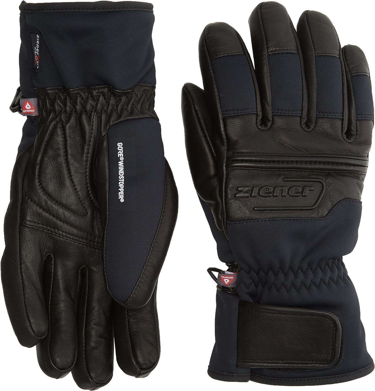 Ziener Gip Gws Pr Glove Ski Alpine Guante de Esquí, Hombre: Amazon ...